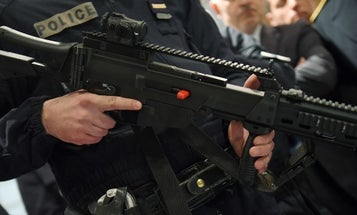 A French Police Sniper ND'ed His Weapon At The Worst Possible Time