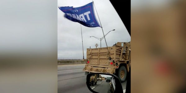 Virginia Beach-Based Special Warfare Unit Reprimanded For Flying Trump Flag Last Month