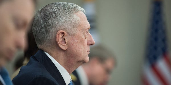 The National Security Team Is Looking More And More Like Mattis