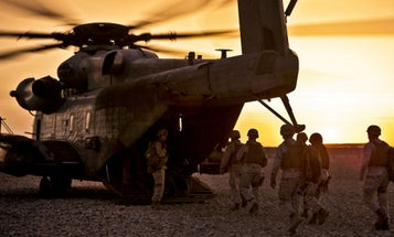 As Marines Prepare To Head To Helmand, The Fallen Are Remembered