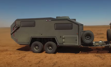 This Tank-Inspired RV Is Exactly What You Need To Survive The Apocalypse