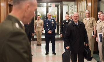 Apparently, Mattis Is Making Lots Of Friends…In The Pentagon Laundry Room