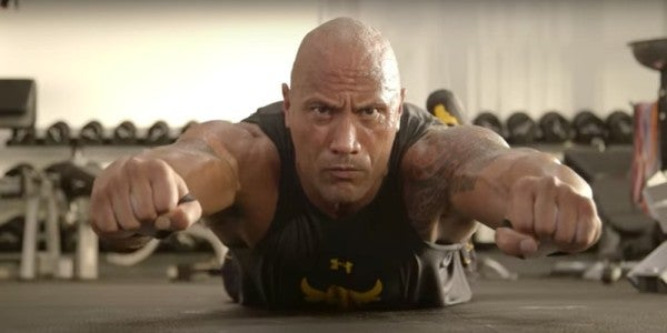 The Rock's Workout Routine Will Make You The Strongest Person Alive