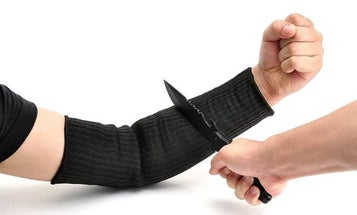 These Cut-Resistant Kevlar Sleeves Are Like Modern-Day Chain Mail