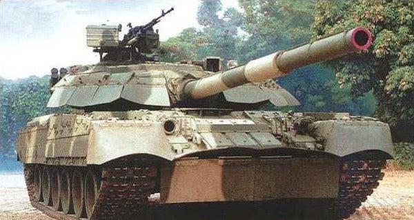 Watch A Russian Battle Tank Execute A Near-Perfect Drift