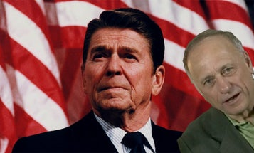 Let's Imagine Ronald Reagan Chatting With This Congressman In The News