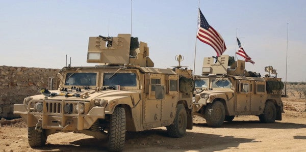 Syrian Dictator Bashes US Military's Track Record As More Troops Cross The Berm