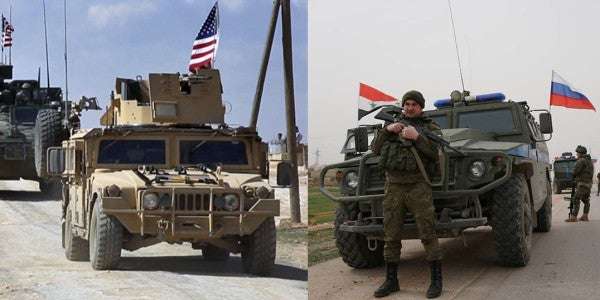 US And Russian Troops Are Both In This Syrian City. What Could Go Wrong?