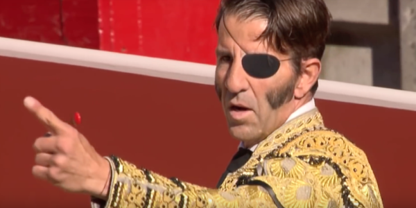 """Famous Matador Known As """"The Pirate"""" Can't Stop Losing His Left Eye To Bulls"""