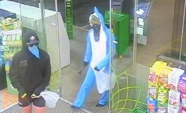 Robber Dressed As 'Left Shark' Robbed A Gas Station For Snacks