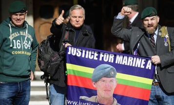 British Marine Who Executed Wounded Taliban Fighter May Go Free Soon