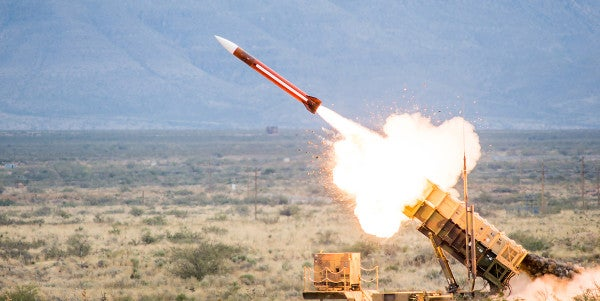 An Ally Used A $3M Patriot Missile To Shoot Down A $200 Drone, According To This General