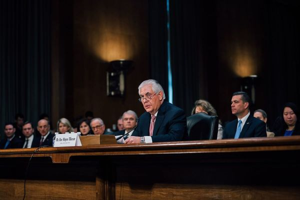 Rex Tillerson Says US Could Resort To Military Strike Against North Korea