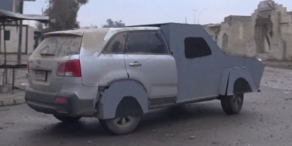 ISIS Has Been Using Kia SUVs As Their Vehicle Of Choice In Mosul