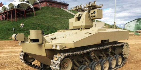 The Company Behind The AK-47 Is Now Building Unmanned Tanks