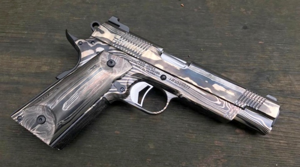 Freedom in 9mm: the 1911 pistol forged with pieces of the Statue Of Liberty