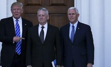 Trump's Letting Mattis Call The Shots
