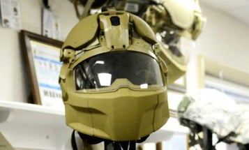 The Army Just Started Producing Its Brand New Ballistics Helmet