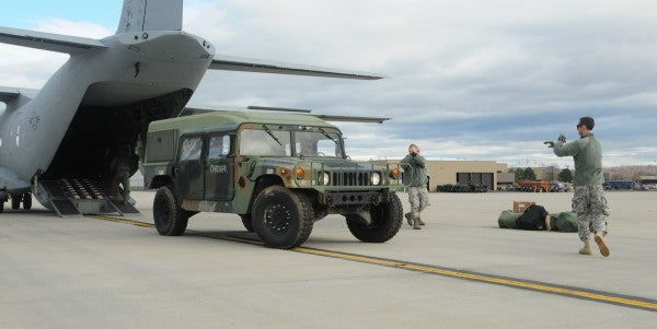 Someone Stole A Humvee From An Ohio National Guard Armory