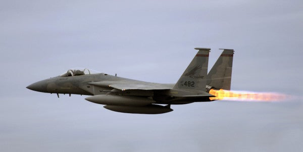 The F-15C May Soon Be Headed Into Retirement