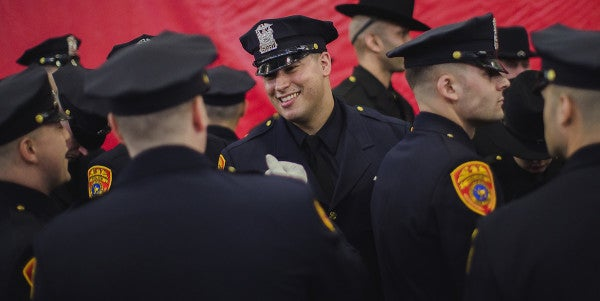 This Marine Veteran Is The First Ever Double Amputee To Become A Police Officer