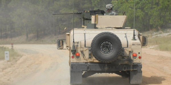 Stolen Army Humvee Found, But Authorities Still Don't Know Who Stole It