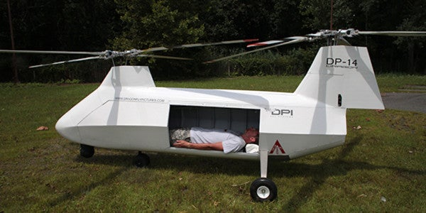 This Drone Helicopter Could Revolutionize The Medevac Forever