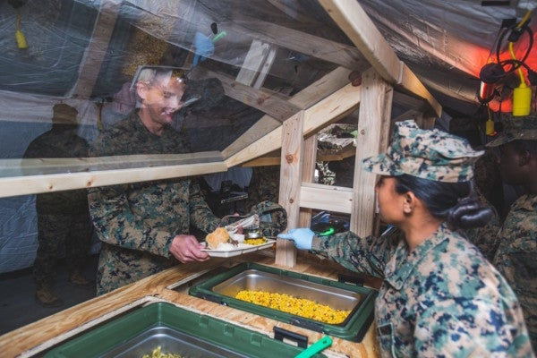 Marine Corps Chow Halls Are Getting A Healthy Food Makeover