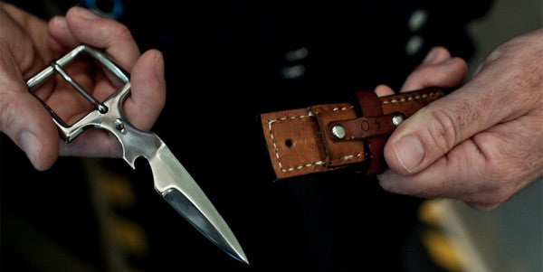This Concealed Belt Knife Holds A Nasty Surprise For Would-Be Attackers