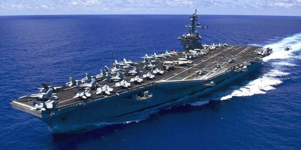This Video Shows Why US Aircraft Carriers Are A Force To Be Reckoned With