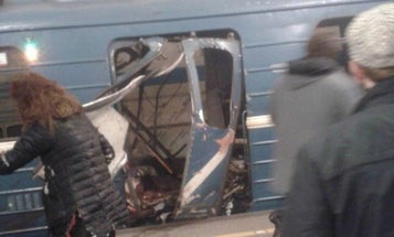 Intense Photos And Videos Capture The Chaos Of Russia Subway Bombing