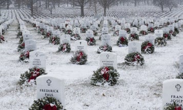 Arlington National Cemetery Is Running Out Of Room