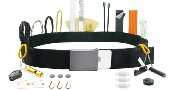Forget The Swiss Army Knife. This Belt Will Save Your Life
