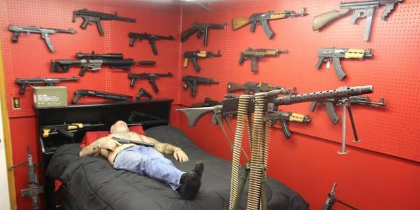 Meet 'The Most Armed Man In America' And His Insane Arsenal