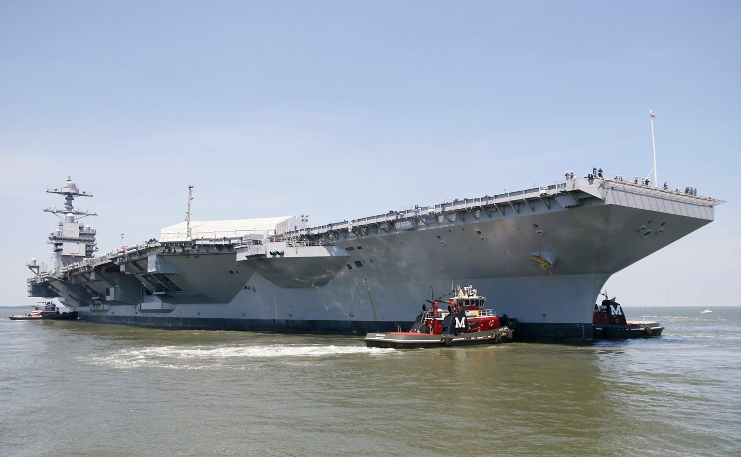 Pre-Commissioning Unit Gerald R. Ford