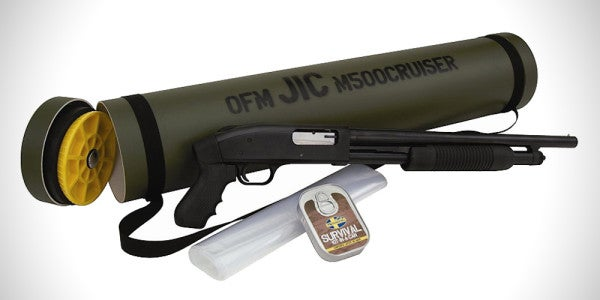 Everyone Needs A Mossberg Shotgun In a Tube, Just In Case
