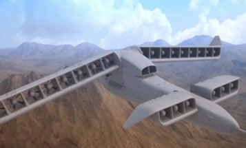 Watch DARPA's Experimental Vertical-Takeoff Aircraft Transform Mid-Flight