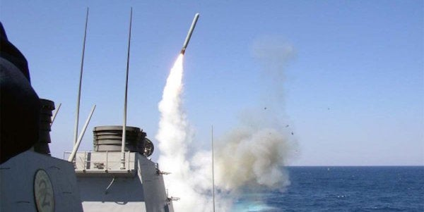 The US Just Launched Tomahawk Missiles At Syrian Government Targets