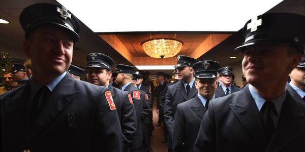 The Newest Class To Join The Boston Fire Department Is Made Up Entirely Of Veterans