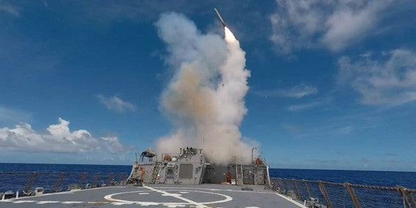 Here's How The Navy's Tomahawk Missiles Are Supposed To Work