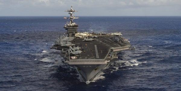 Navy's Third Fleet Sails Toward North Korea In Response To Latest Missile Test