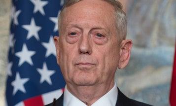 Mattis Tells Syria: Do Not Mess With Us