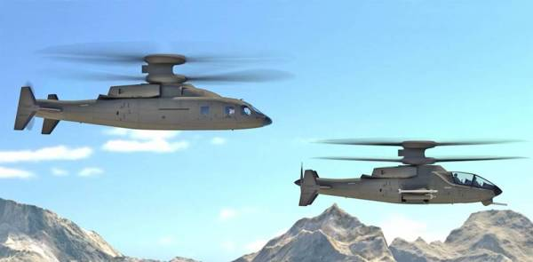 Here's A Look At Boeing And Sikorsky's New Gunship Helicopter Concept