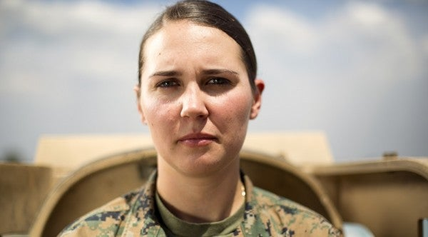 Meet The Marine Corps' First Female Tank Officer