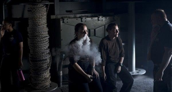 Navy Bans E-Cigarettes As Dreams Of Vaping At Sea Go Up In Smoke
