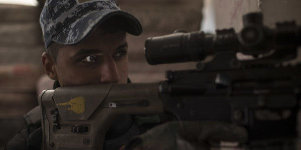 Meet The Iraqi Sniper Making Life Hell For ISIS Fighters In Mosul