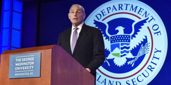 DHS Secretary John Kelly To Lawmakers: Change The Laws Or 'Shut Up'