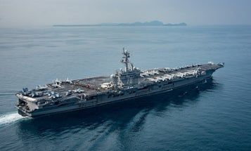 That Time The USS Carl Vinson Strike Group Wasn't On Its Way To North Korea