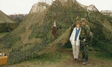 That Time My Wife Tried To Deliver Candy In The Middle Of A Field Exercise