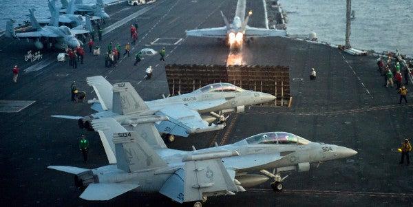 USS Carl Vinson Deployment Extends By A Month As Group Sails Toward Korea